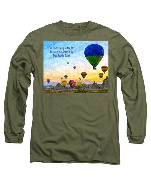 The Ships Hung In The Sky Long Sleeve T-Shirt