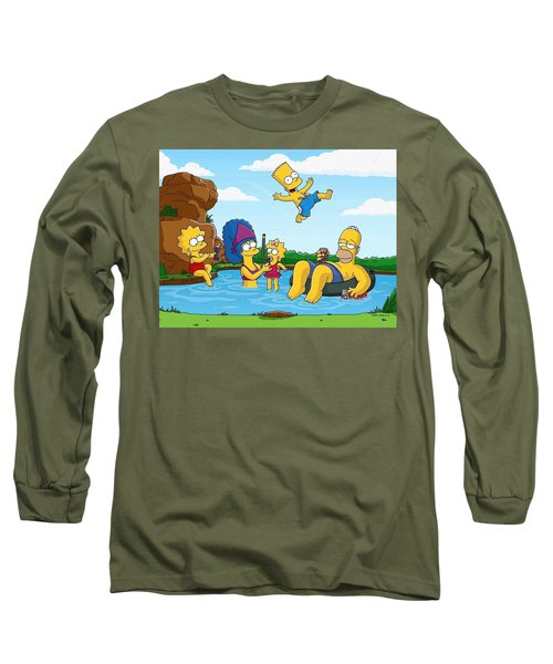 The Simpsons Long Sleeve T-Shirt