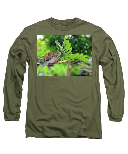 The Snail Long Sleeve T-Shirt