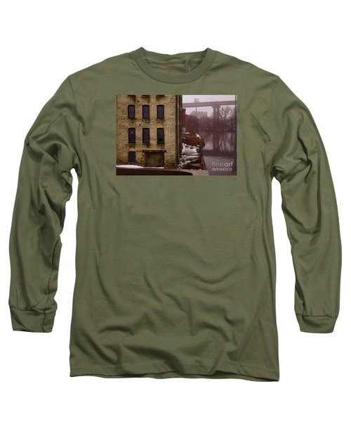 Long Sleeve T-Shirt featuring the digital art The South Bank by David Blank