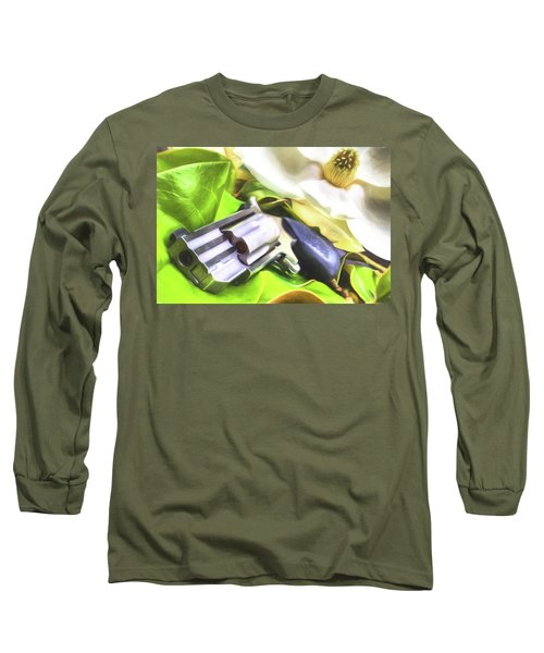 Long Sleeve T-Shirt featuring the photograph The Southern Debutante  by JC Findley