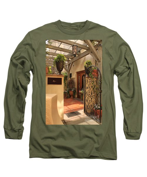 The Spa Long Sleeve T-Shirt by James Eddy