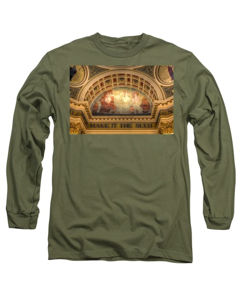 Long Sleeve T-Shirt featuring the photograph The Spirit Of Religious Liberty by Shelley Neff