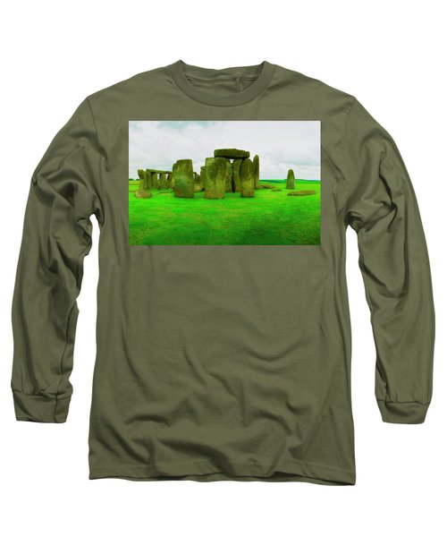 The Stones Long Sleeve T-Shirt by Jan W Faul
