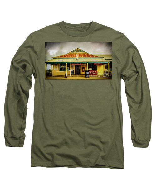Long Sleeve T-Shirt featuring the photograph The Store by Perry Webster