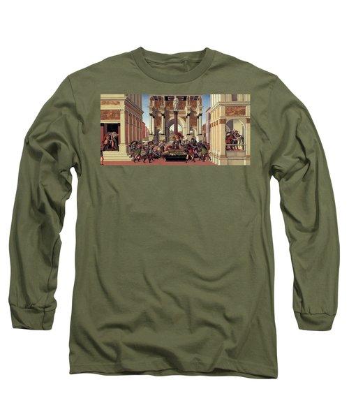 The Story Of Lucretia Long Sleeve T-Shirt