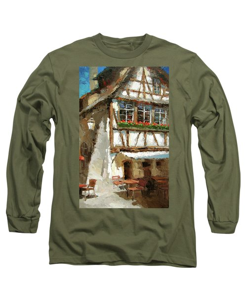 The Streets Of Strasbourg Long Sleeve T-Shirt by Dmitry Spiros