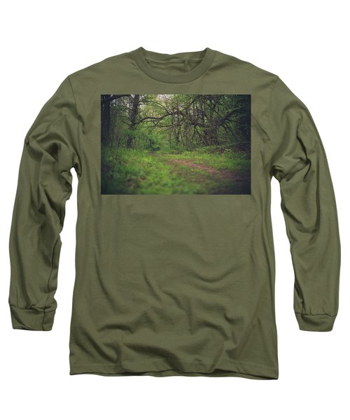 Long Sleeve T-Shirt featuring the photograph The Taking Tree by Shane Holsclaw