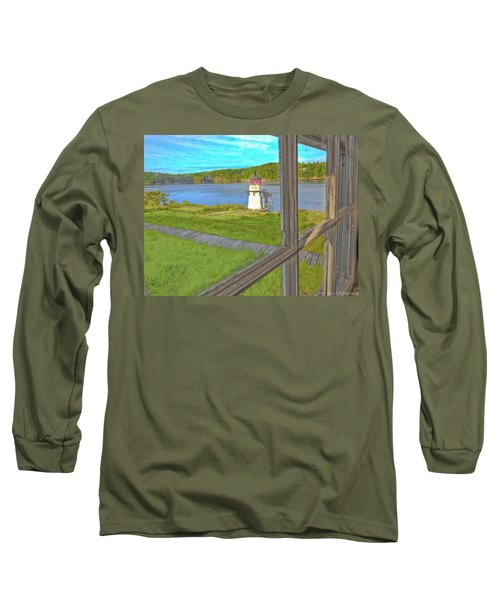 The Thin Line Between Real And Imagined Long Sleeve T-Shirt