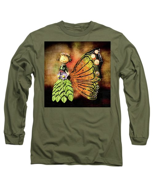 Long Sleeve T-Shirt featuring the photograph The Thing by Lewis Mann