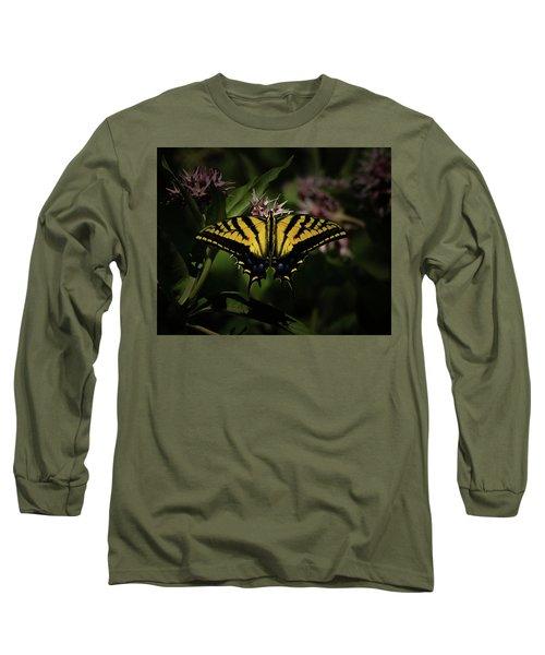 The Tiger Swallowtail Long Sleeve T-Shirt by Ernie Echols