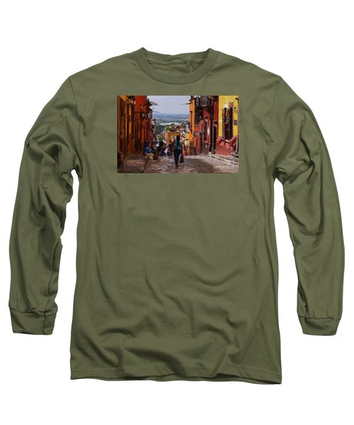 The Top Of Calle Umaran Long Sleeve T-Shirt