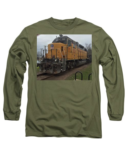 The Train At The Ymca Long Sleeve T-Shirt