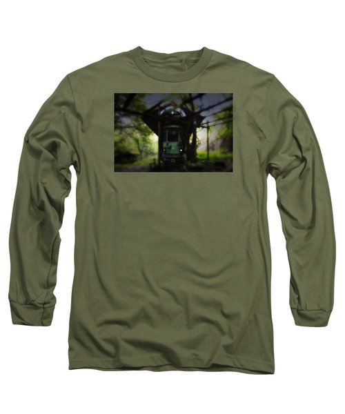The Tram Leaves The Station... Long Sleeve T-Shirt