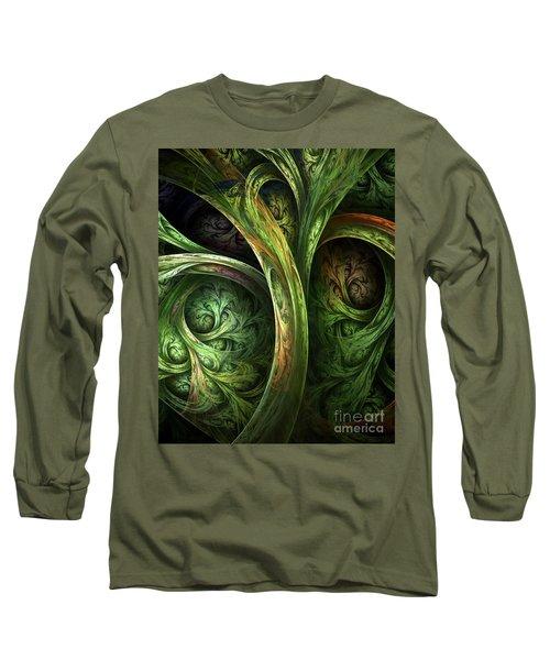 The Tree Of Life Long Sleeve T-Shirt by Olga Hamilton