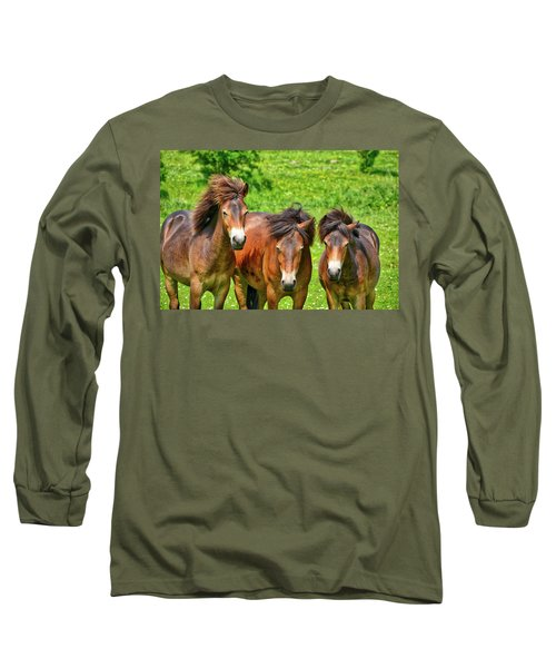 The Trio 2 Long Sleeve T-Shirt