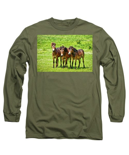 The Trio 3 Long Sleeve T-Shirt