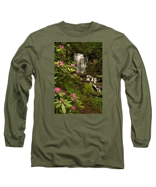 The Tropics Of North Carolina Long Sleeve T-Shirt