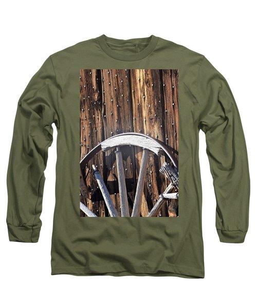 The True Broken Spokes Long Sleeve T-Shirt by John Glass