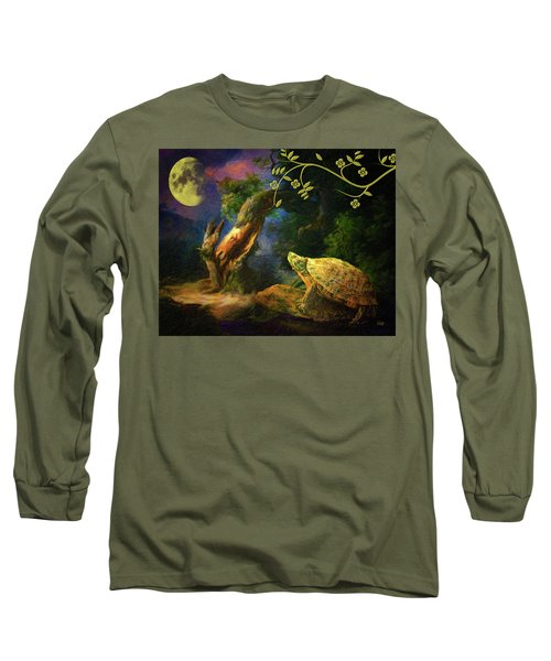 The Turtle Of The Moon Long Sleeve T-Shirt