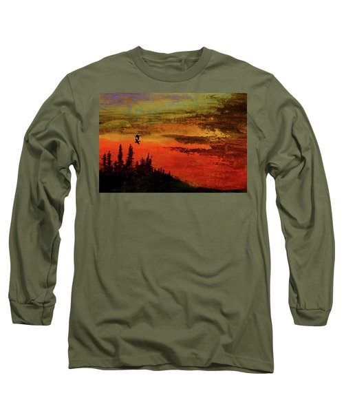 The Two Of Us Long Sleeve T-Shirt by R Kyllo