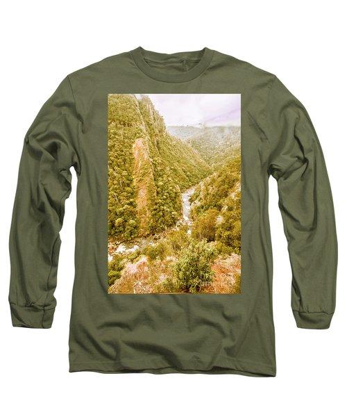 The Valley Below Long Sleeve T-Shirt