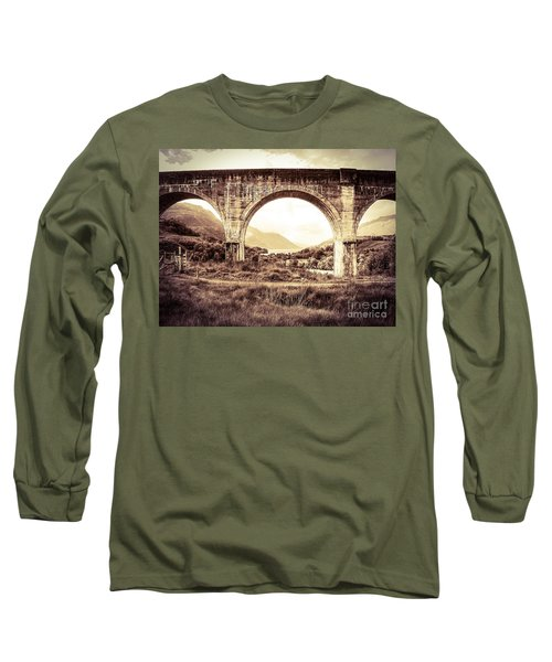 The Viaduct And The Loch Long Sleeve T-Shirt