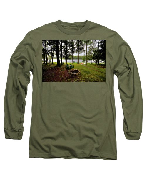 Long Sleeve T-Shirt featuring the photograph The View From Northern Comfort by David Patterson
