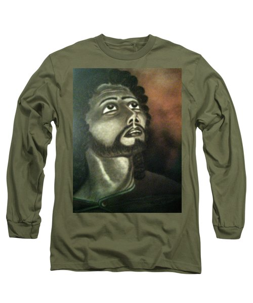 The Vision Of St. Christopher Long Sleeve T-Shirt