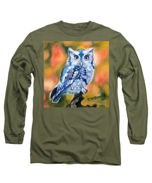 The Visitor Long Sleeve T-Shirt by Janet McDonald