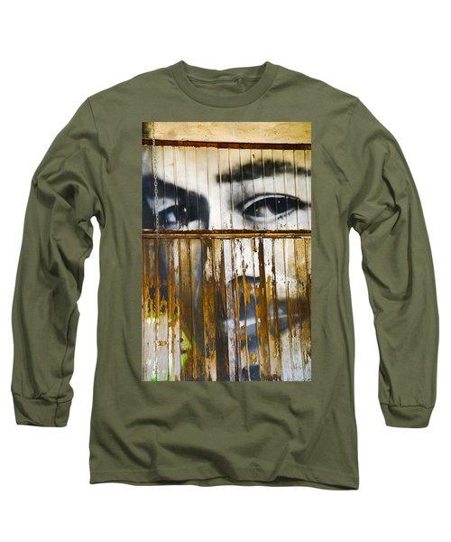 The Walls Have Eyes Long Sleeve T-Shirt