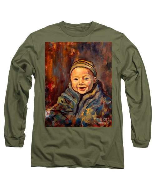 The Warmth Of Winter Long Sleeve T-Shirt