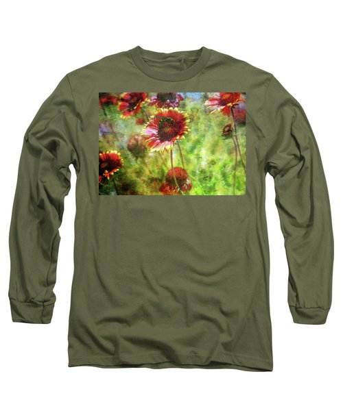 The Wasp On His Blanket 0508 Idp_2 Long Sleeve T-Shirt