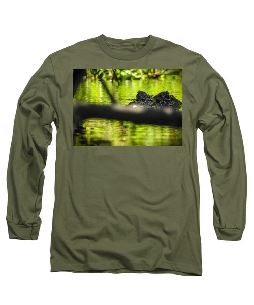 The Watcher In The Water Long Sleeve T-Shirt