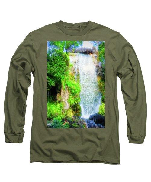 The Water Falls Long Sleeve T-Shirt