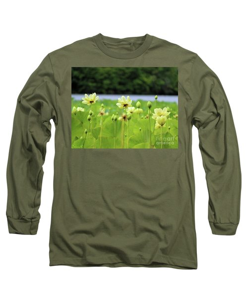 The Water Fields  Long Sleeve T-Shirt