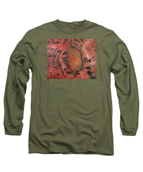 The Watering Hole - Original Sold Long Sleeve T-Shirt by Therese Alcorn