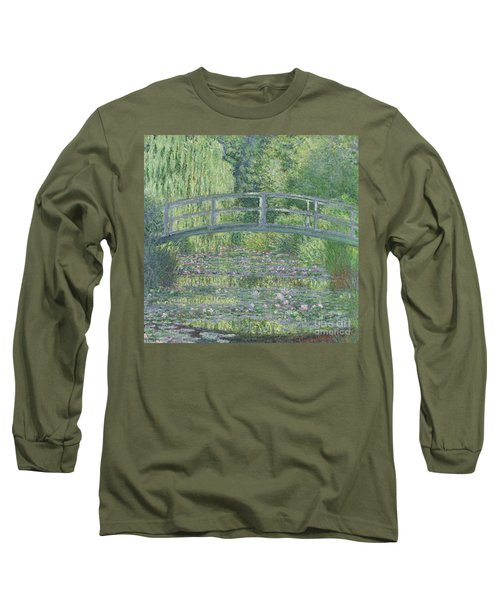 The Waterlily Pond Long Sleeve T-Shirt