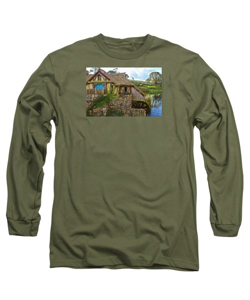 The Watermill, Bag End, The Shire Long Sleeve T-Shirt