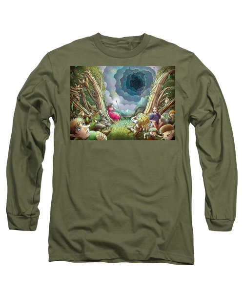 The Wave Of Space And Time Long Sleeve T-Shirt by Reynold Jay