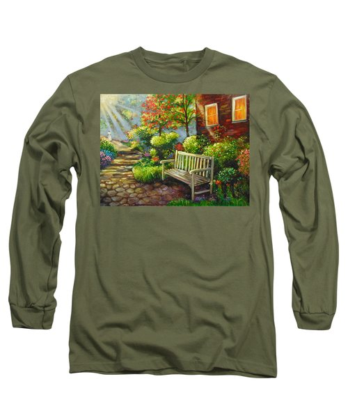 The Way Home Long Sleeve T-Shirt by Emery Franklin