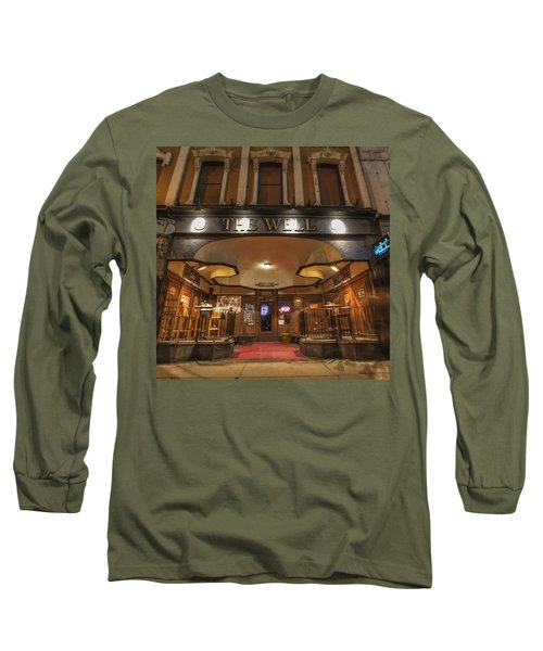 Long Sleeve T-Shirt featuring the photograph The Well by Nicholas Grunas