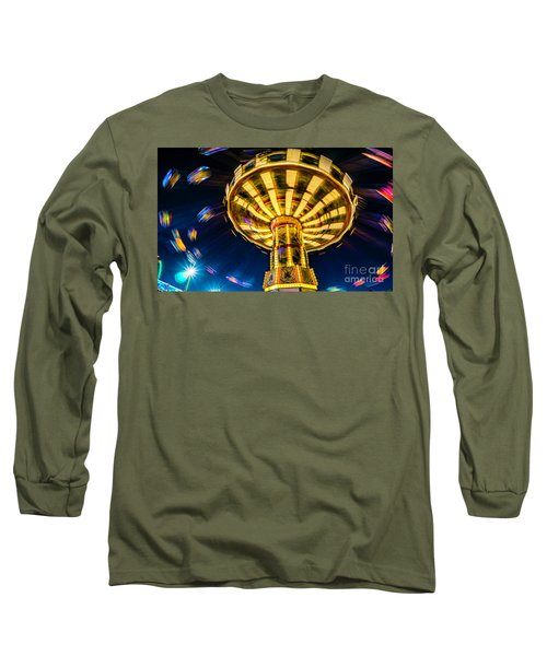 The Wheel Long Sleeve T-Shirt by David Smith
