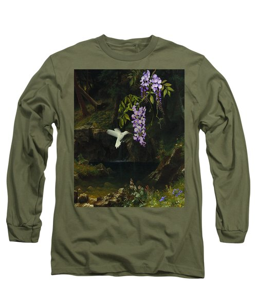 The White Hummingbird Long Sleeve T-Shirt