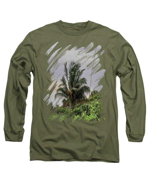 The Wild Palm Tree Long Sleeve T-Shirt