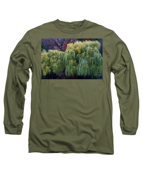 The Willows Of Central Park Long Sleeve T-Shirt