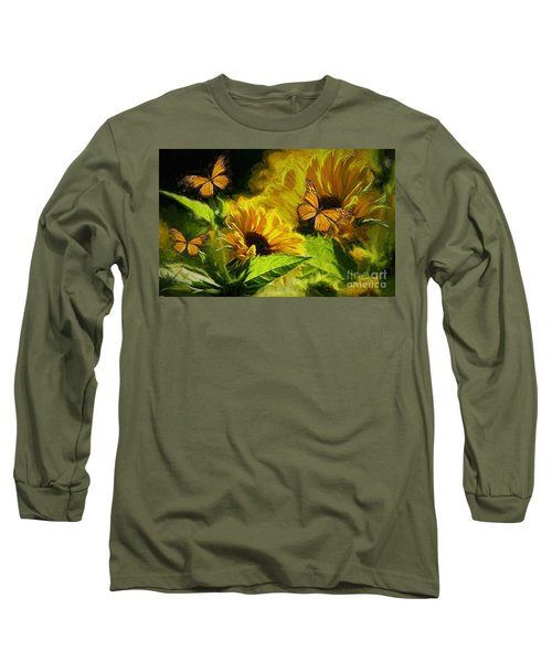 The Wings Of Transformation Long Sleeve T-Shirt