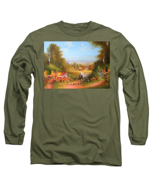 Fireworks In The Shire. Long Sleeve T-Shirt