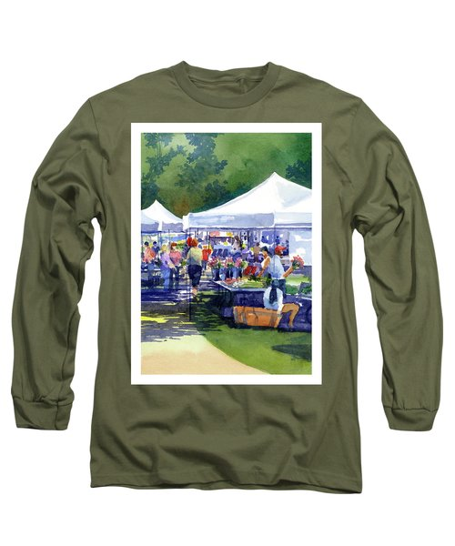 Theinsville Farmers Market Long Sleeve T-Shirt