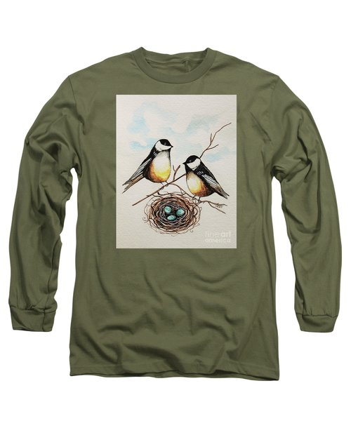 Their Family Long Sleeve T-Shirt by Elizabeth Robinette Tyndall